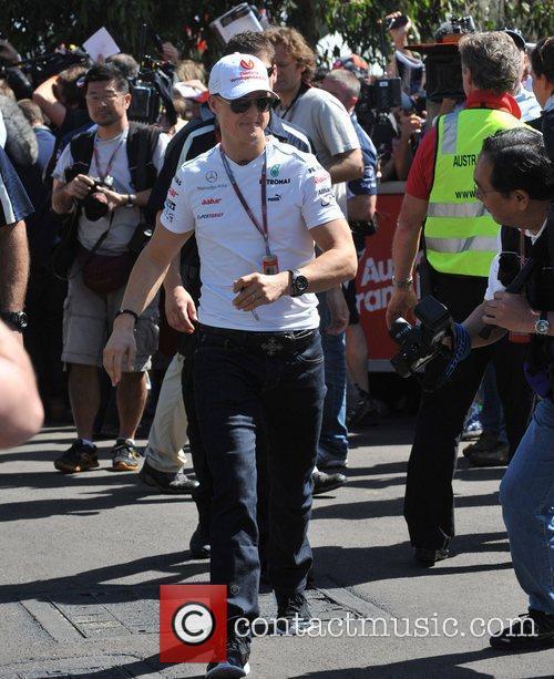 Michael Schumacher Australian Formula One Grand Prix at...