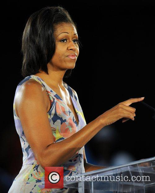 first lady michelle obama delivers a speech 4045150