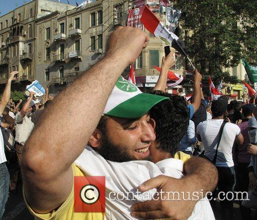 Muslim Brotherhood's Mohammed Morsi wins Egypt's presidential race....