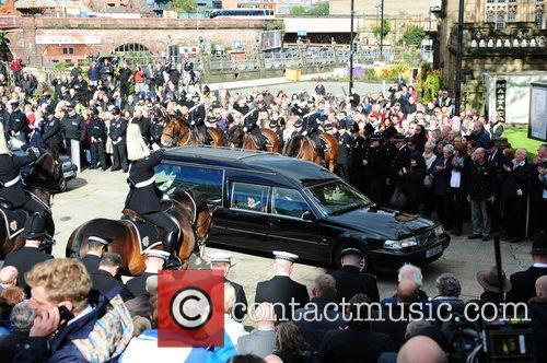 Atmosphere The funeral of PC Nicola Hughes at...