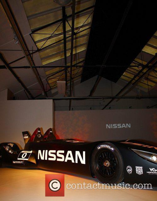 Nissan DeltaWing Le Mans racing car  Nissan...