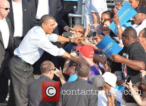 U, S, President Barack Obama, Obama, High School, Hollywood, Florida, November, Americans, Republican, Mitt Romney, Sunday and White House 7
