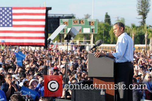 U, S, President Barack Obama, Obama, High School, Hollywood, Florida, November, Americans, Republican, Mitt Romney, Sunday and White House 8