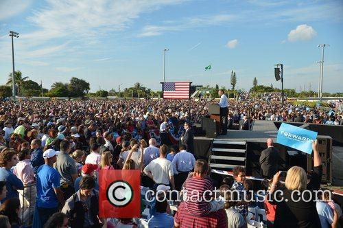 U, S, President Barack Obama, Obama, High School, Hollywood, Florida, November, Americans, Republican, Mitt Romney, Sunday and White House 6