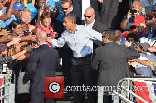 U, S, President Barack Obama, Obama, High School, Hollywood, Florida, November, Americans, Republican, Mitt Romney, Sunday and White House 4