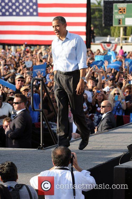 U, S, President Barack Obama, Obama, High School, Hollywood, Florida, November, Americans, Republican, Mitt Romney, Sunday and White House 10