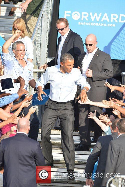 U, S, President Barack Obama, Obama, High School, Hollywood, Florida, November, Americans, Republican, Mitt Romney, Sunday and White House 9
