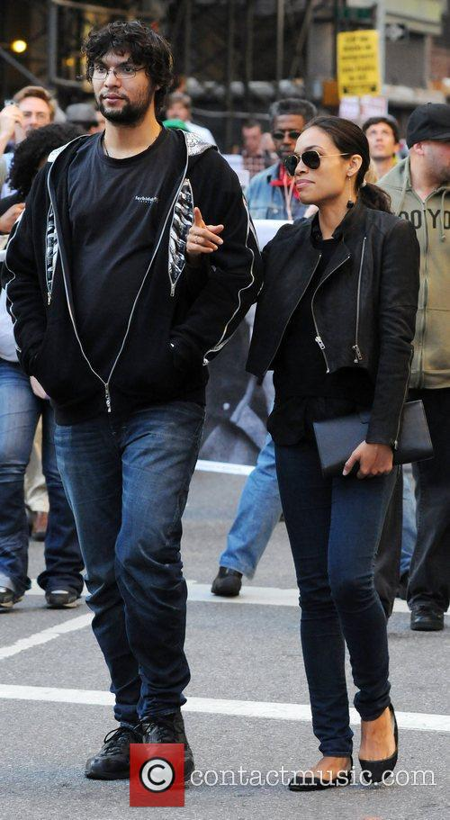 Rosario Dawson and Wall Street 2