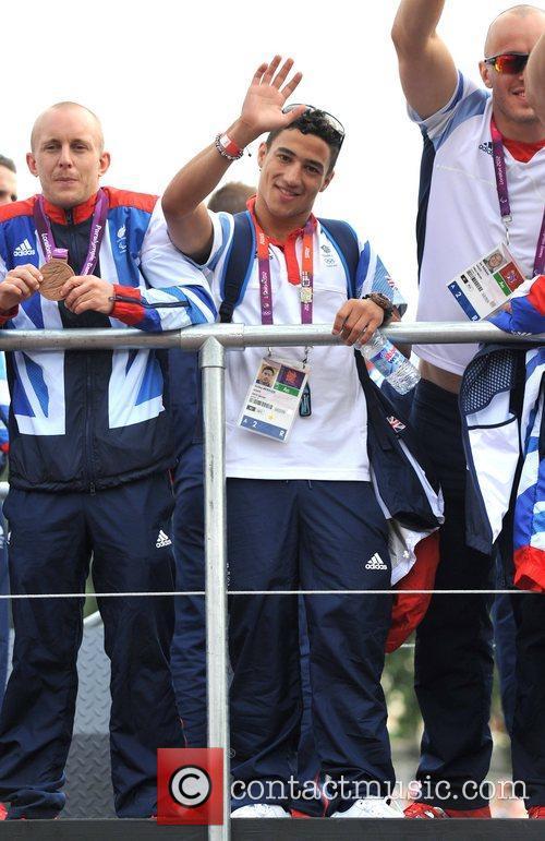 Ashley McKenzie Team GB and Paralympics GB Parade...