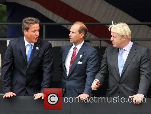 David Cameron, Boris Johnson and Prince Edward 2