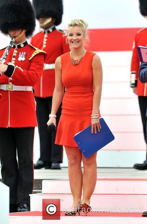 Helen Skelton Team GB and Paralympics GB Parade...