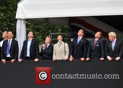Jeremy Hunt, Nick Clegg, Princess Anne, David Cameron,...