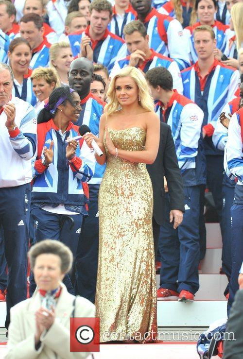 Katherine Jenkins Team GB and Paralympics GB Parade...