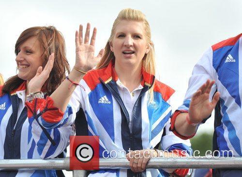 Rebecca Adlington Team GB and Paralympics GB Parade...