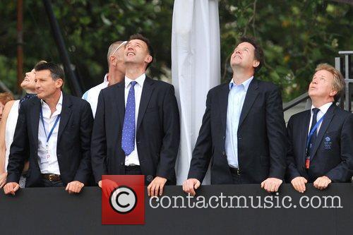 Seb Coe, Jeremy Hunt, Nick Clegg Team GB...