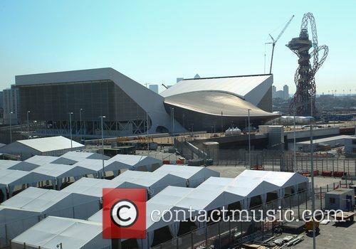 The London Olympic Park  The Olympic Stadium...