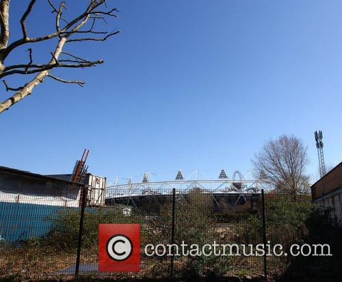 The Olympic Stadium and Orbit tower at the...