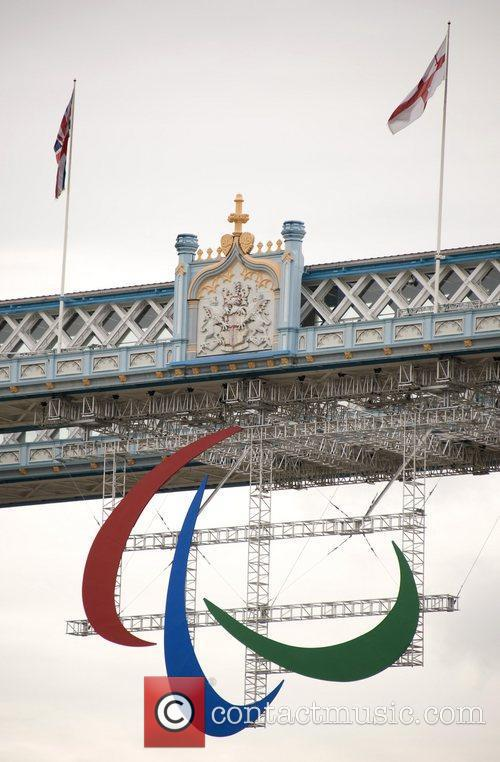London welcomes the Paralympic games by suspending the...