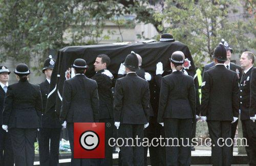 The funeral of PC Fiona Bone, who was...