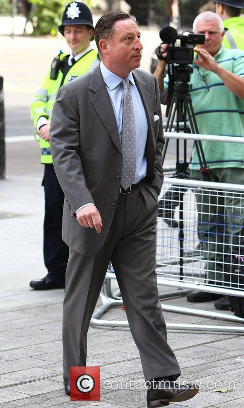 Neville Thurlbeck arrives at Westminster Magistrates courts to...
