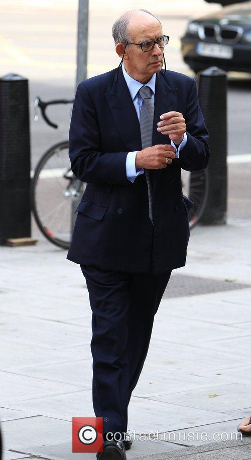 Stuart Kuttner arrives at Westminster Magistrates courts to...