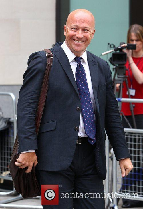 Ian Edmondson leaving Westminster Magistrates court after giving...