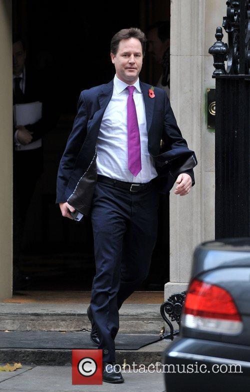 Deputy Prime Minister Nick, Clegg, Downing Street, Prime Minister's Questions, House and Commons 2