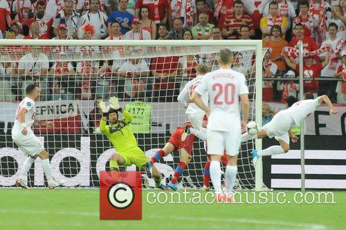 Match Action UEFA Euro 2012 - Poland 0...