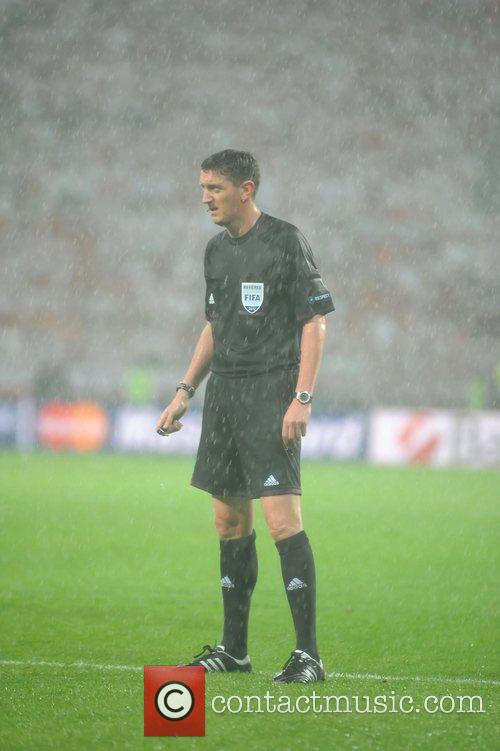 Referee Craig Thomson UEFA Euro 2012 - Poland...