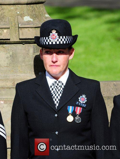 The funeral of PC Nicola Hughes, who was...
