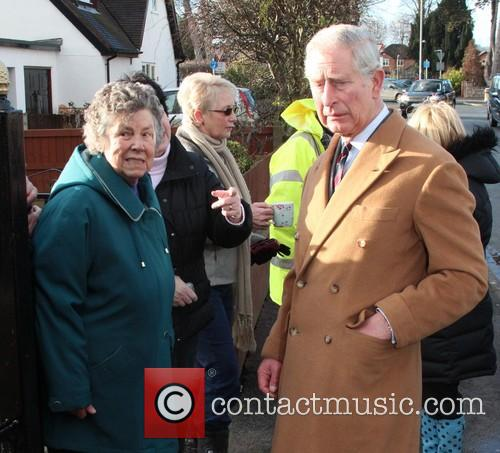 Prince Charles, Wales, Roe Parc and River Elwy 9