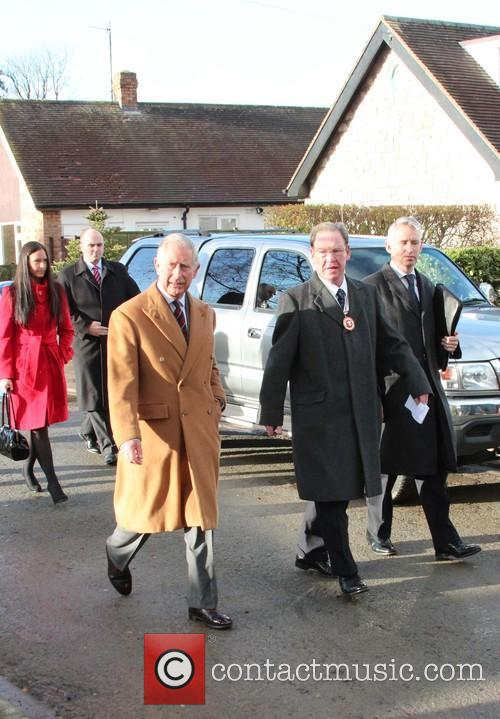 Prince Charles, Wales, Roe Parc and River Elwy 6