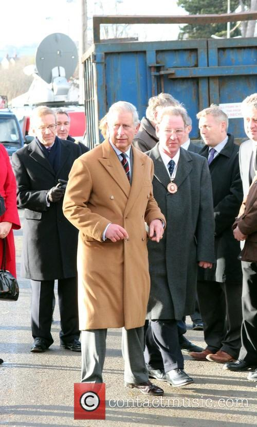 Prince Charles, Wales, Roe Parc and River Elwy 7