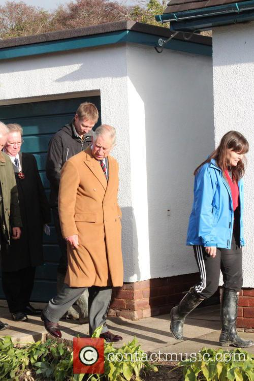 Prince Charles, Wales, Roe Parc and River Elwy 8