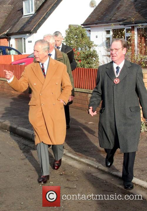 Prince Charles, Wales, Roe Parc and River Elwy 10