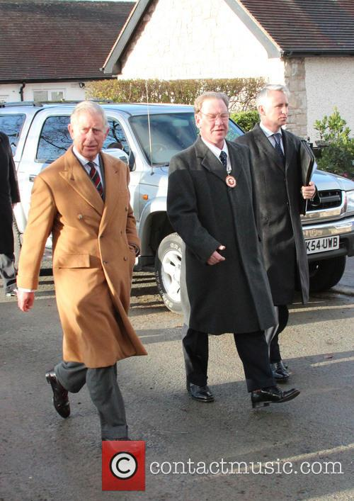 Prince Charles, Wales, Roe Parc and River Elwy 5