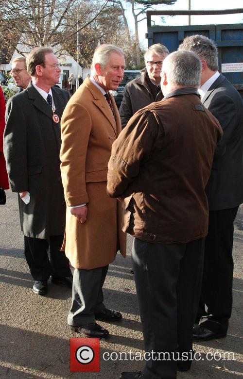 Prince Charles, Wales, Roe Parc and River Elwy 4