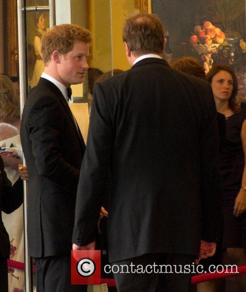 Prince Harry arrives at the Ritz-Carlton hotel Washington...
