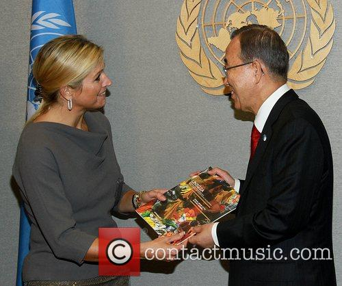 Princess Maxima of the Netherlands and The United...