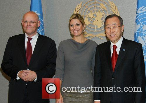 Uri Rosenthal, Foreign Minister of Netherlands, Princess Maxima...