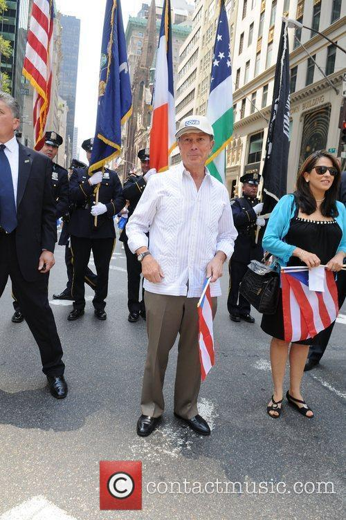 Mayor Michael Bloomberg and Puerto Rican Day Parade