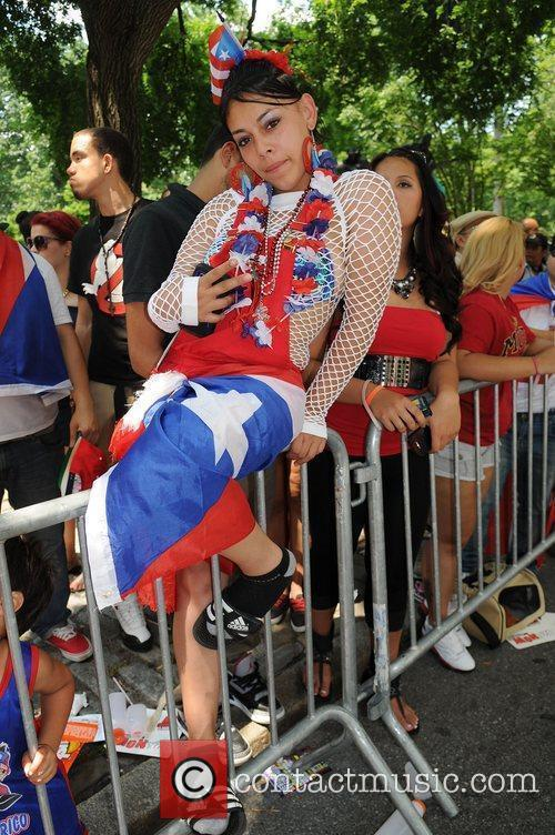 National Puerto Rican Day Parade on the streets...