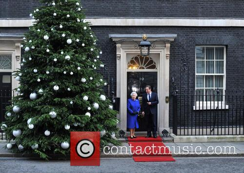 Queen Elizabeth and Prime Minister David Cameron 5
