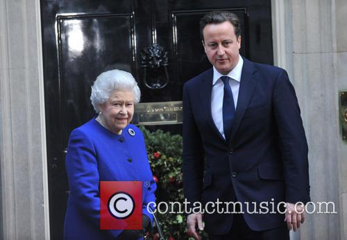 Queen Elizabeth and Prime Minister David Cameron 3