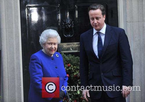 Queen Elizabeth and Prime Minister David Cameron 1
