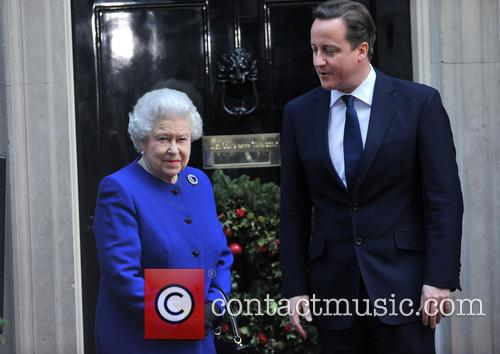 Queen Elizabeth and Prime Minister David Cameron 2