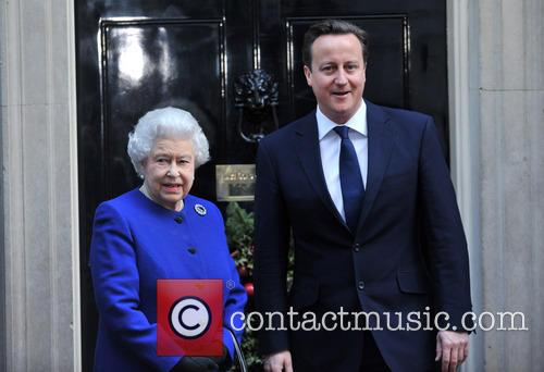 Queen Elizabeth and Prime Minister David Cameron 4