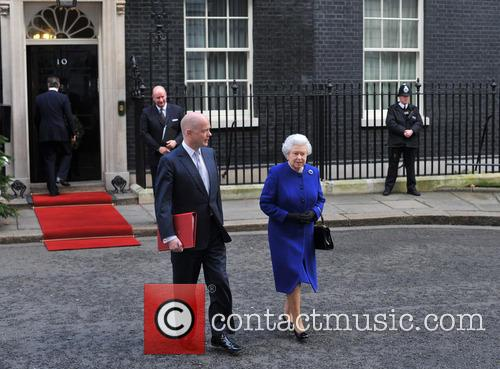 Queen Elizabeth and William Hague 10