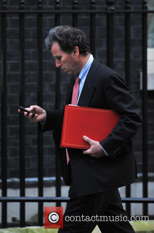 Oliver Letwin Members of Parliament arrive at 10...