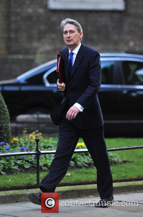 Philip Hammond Members of Parliament arrive at 10...
